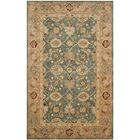 Ashville Hand-Tufted Green / Taupe Area Rug Rug Size: Rectangle 8'3