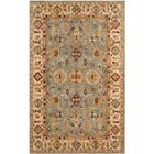 Ashville Hand-Tufted Blue / Ivory Area Rug Rug Size: Rectangle 6' x 9'