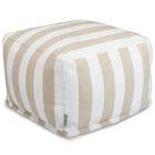 Mufeeda Stripe Ottoman Color: Sand