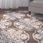 Brown/Beige Indoor/Outdoor Area Rug Rug Size: Rectangle 8' x 11'2