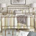 Duluth Panel Bed Size: Full, Color: Champagne Gold