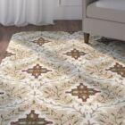 Lyndora Handmade Wool Rectangle Area Rug Rug Size: Rectangle 9' x 12'