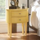 Canterbury End Table With Storage� Color: Yellow