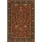 Dearborn Hand-Tufted Pomegranat Area Rug Rug Size: Rectangle 3'6