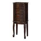 Elmore Free Standing Jewelry Armoire with Mirror