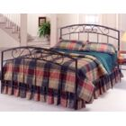 Bush Creek Platform Bed Size: Queen, Color: Black