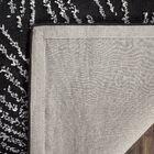 Germain Hand-Tufted Black Area Rug Rug Size: Rectangle 7'6
