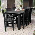 Billups 7 Piece Dining Set Color: Black, Table Top Size: 43.3'' H x 55.5'' W x 98.5'' L