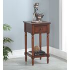 Axtell End Table With Storage� Color: Mahogany