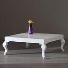 Lukens Coffee Table Color: White