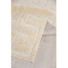 Orla Platinum Shag Beige Area Rug Rug Size: Rectangle 8' x 10'2