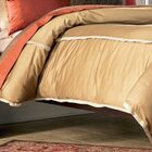 Jonathan 4 Piece 300 Thread Count Cotton Sateen Sheet Set Size: Queen