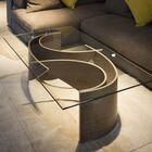 Wave Coffee Table Color: Walnut