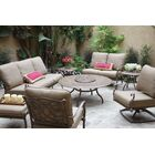 Dolby 8 Piece Sofa Set with Cushions Frame Color: Mocha