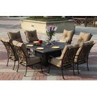 Lanesville 9 Piece Dining Set with Cushions