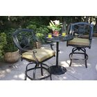 Thompsontown 3 Piece Bar Height Dining Set with Cushions