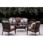 Mccraney 4 Piece Sofa Set with Cushions