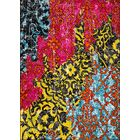 Cherita Modern Boho Distressed Red/Yellow Area Rug Rug Size: 5'3