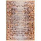 Bridgegate Modern Distressed Vintage Gold Area Rug Rug Size: 5'3