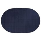 Americolors Navy Area Rug Rug Size: Oval 12' x 18'