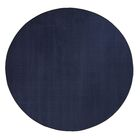 Americolors Navy Area Rug Rug Size: Round 12'
