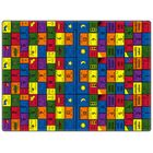Educational Amigos Area Rug Rug Size: Rectangle 8'4
