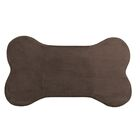 Memory Foam Dog Mat Color: Chocolate, Size: 42
