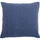 Larkspur Linen Pillow Cover Color: Sapphire