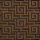 Dover Tufted Wool Caramel Area Rug Rug Size: Square 12'