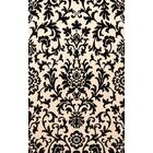 Bella Black/Beige Area Rug Rug Size: Runner 2'6