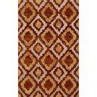 Bella Machine Woven Wool Brown/Beige Area Rug Rug Size: Rectangle 12' x 15'