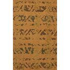 Bella Machine Woven Wool Gold Area Rug Rug Size: Rectangle 8' x 10'