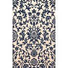 Bella Machine Woven Wool Beige/Blue Area Rug Rug Size: Runner 2'6