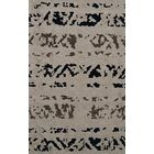 Bella Machine Woven Wool Gray Area Rug Rug Size: Oval 8' x 10'