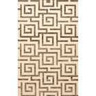 Bella Gray/Beige Area Rug Rug Size: Oval 6' x 9'
