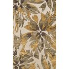 Bella Machine Woven Wool Beige Area Rug Rug Size: Rectangle 6' x 9'
