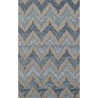 Bella Beige/Blue Area Rug Rug Size: Rectangle 9' x 12'