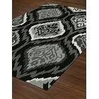 Aloft Black/Gray Area Rug Rug Size: Rectangle 9' x 13'