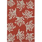 Bovina Hand-Tufted Red Area Rug Rug Size: Rectangle 5' x 7'6