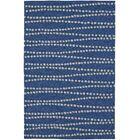 Amee Hand-Tufted Navy Indoor/Outdoor Area Rug Rug Size: Rectangle 3'6