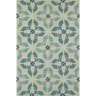Cabana Hand-Tufted Peacock Indoor/Outdoor Area Rug Rug Size: Rectangle 5' x 7'6