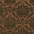 Bella Machine Woven Wool Brown Area Rug Rug Size: Square 8'