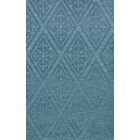 Bella Machine Woven Wool Blue Area Rug Rug Size: Rectangle 8' x 10'