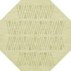 Bella Machine Woven Wool Beige Area Rug Rug Size: Octagon 8'