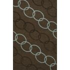 Bella Machine Woven Wool Brown Area Rug Rug Size: Rectangle 12' x 15'
