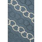 Bella Machine Woven Wool Blue Area Rug Rug Size: Rectangle 9' x 12'