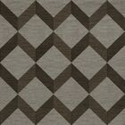 Bella Machine Woven Wool Gray/Brown Area Rug Rug Size: Square 12'