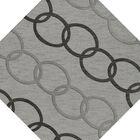 Bella Machine Woven Wool Gray Area Rug Rug Size: Octagon 10'