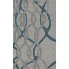 Bella Machine Woven Wool Gray Area Rug Rug Size: Rectangle 10' x 14'