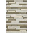 Bella Machine Woven Wool Gray/ Brown Area Rug Rug Size: Rectangle 5' x 8'